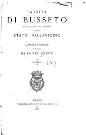 La città di Busseto, capitale un tempo dello stato Pallavicino: memorie storiche, Volumi 1-3