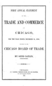 Annual Statement of the Trade and Commerce of Chicago