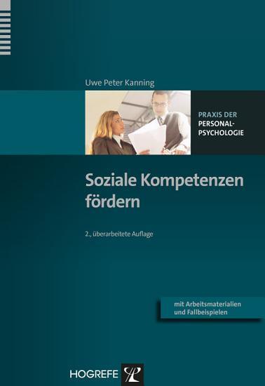 Soziale Kompetenzen f  rdern PDF