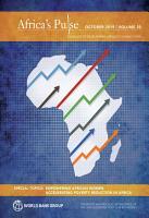 Africa s Pulse  No  20  October 2019 PDF