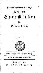 Deutsche Sprachlehre für Schulen
