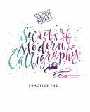 Kirsten Burke's Secrets of Modern Calligraphy Practice Pad