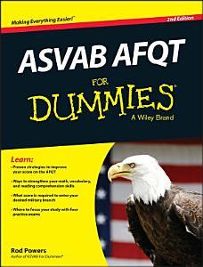 ASVAB AFQT For Dummies Book