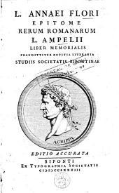 Epitome rerum romanerum: L. Ampelii liber memorialis