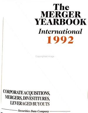 The     International Merger Yearbook