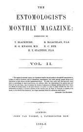 The Entomologist's Monthly Magazine: Volume 2