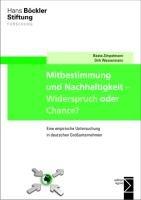 Mitbestimmung und Nachhaltigkeit   Widerspruch oder Chance  PDF