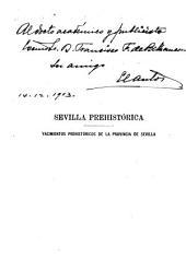 Sevilla prehistórica: yacimientos prehistóricos de la provincia de Sevilla...