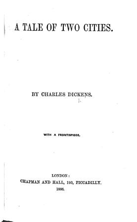 A Tale of Two Cities     With a frontispiece PDF