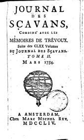Le journal des sçavans, combiné avec les mémoires de Trévoux: Volume2