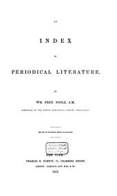 An Index to Periodical Literature