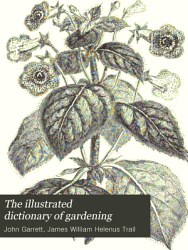 The Illustrated Dictionary of Gardening PDF