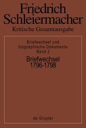 Briefwechsel 1796-1798: (Briefe 327-552)
