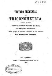 Tratado elemental de trigonometria: escrito de Real Orden para uso de los aspirantes del Colegio Naval Militar