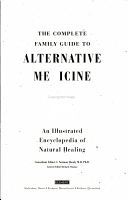 The Complete Family Guide to Alternative Medicine PDF