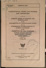 Constitutional Rights and Federal Bail Procedures