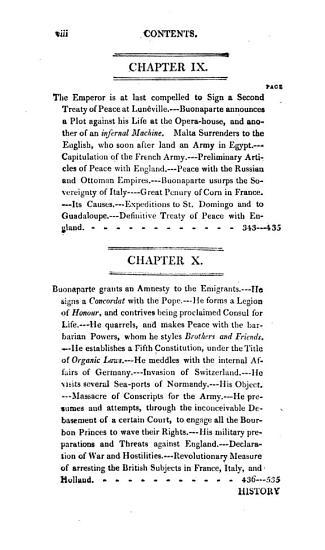 History of the French Consulate  Under Napoleon Buonaparte PDF