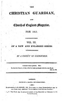 The Christian guardian  and Church of England magazine   PDF