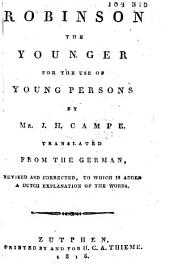 Robinson the Younger: For the Use of Young Persons