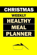 Christmas Weekly Healthy Meal Planner