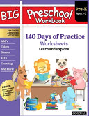 Big Preschool Workbook PDF