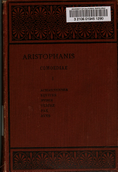 Aristophanis Comoediae: Volume 1