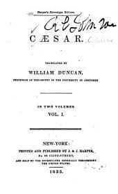 Caesar: Volume 1
