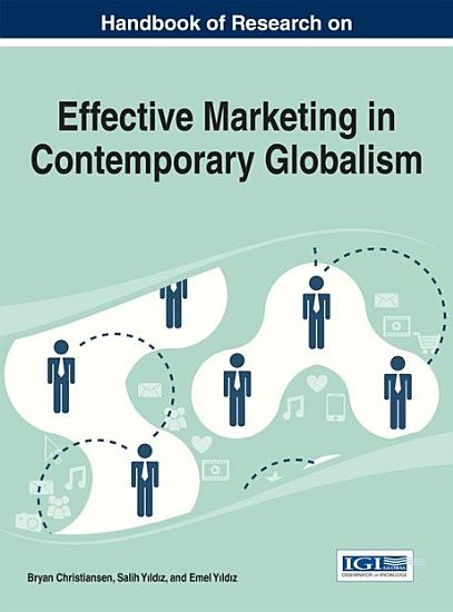 Handbook of Research on Effective Marketing in Contemporary Globalism PDF