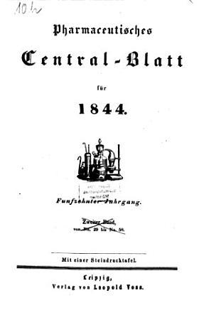 Pharmaceutisches Centralblatt PDF