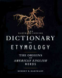 Barnhart Concise Dictionary of Etymology PDF