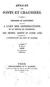 Annales des ponts et chaussées: Partie technique. 1re partie, Partie2