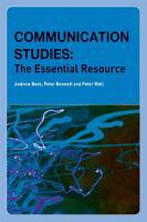 Communication Studies PDF