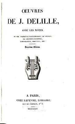 Oeuvres de J  Delille PDF