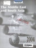 The Middle East and South Asia, 2004