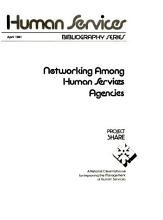 Networking Among Human Services Agencies PDF