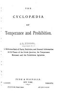 The Cyclopaedia of Temperance and Prohibition PDF