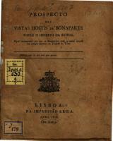 Prospecto des Vistas Hostis de Bonaparte sobre o imperio da Russia PDF