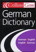 Collins Gem German Dictionary, 7e