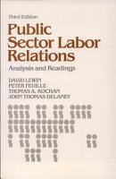 Public Sector Labor Relations PDF