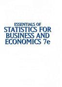 Essentials of Statistics for Business and Economics   MindLink MindTap PDF