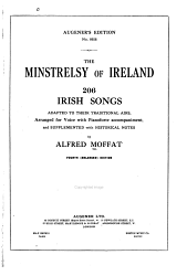 The Minstrelsy of Ireland PDF