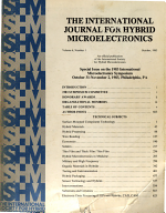 The International Journal for Hybrid Microelectronics