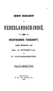 Indisch tijdschrift van het recht: orgaan der Nederlandsch-Indische juristen-vereeniging, Volume 59