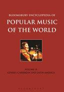 Bloomsbury Encyclopedia of Popular Music of the World PDF