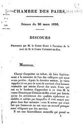 Oraisons funèbre, 1816-1841: Volume2