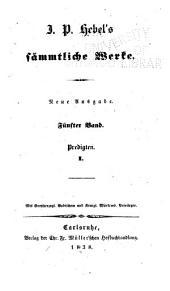 J.P. Hebel's sämmtliche werke: Bände 5-6