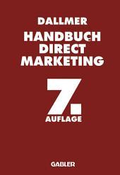 Handbuch Direct Marketing: Ausgabe 7