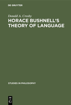 Horace Bushnell's theory of language