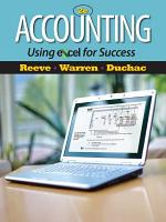 Accounting Using Excel for Success PDF