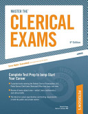 Arco Master the Clerical Exams PDF